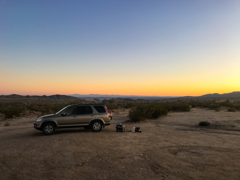 BLM campsite